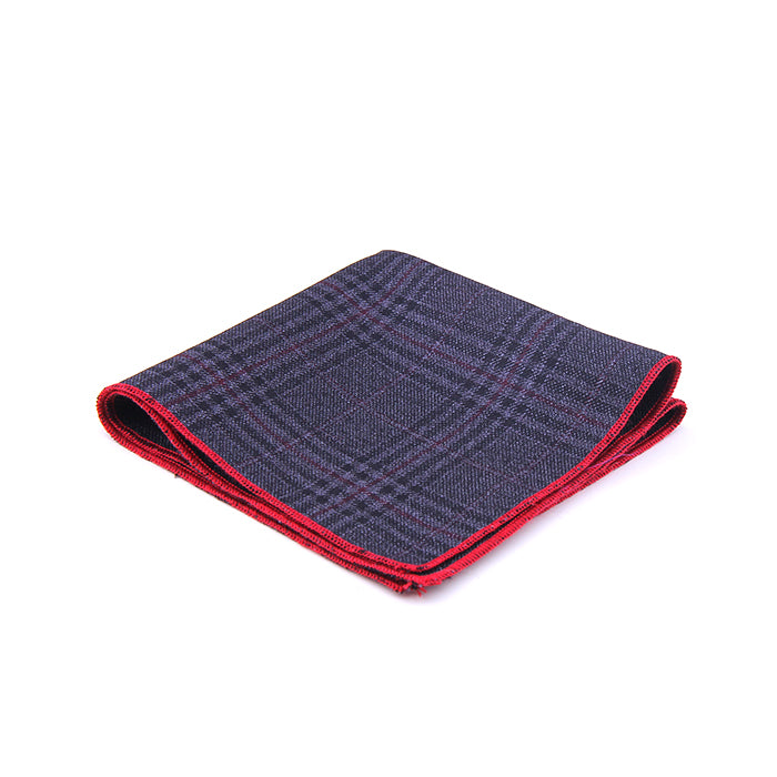 GLEN MULTI PLAID POCKET SQUARES