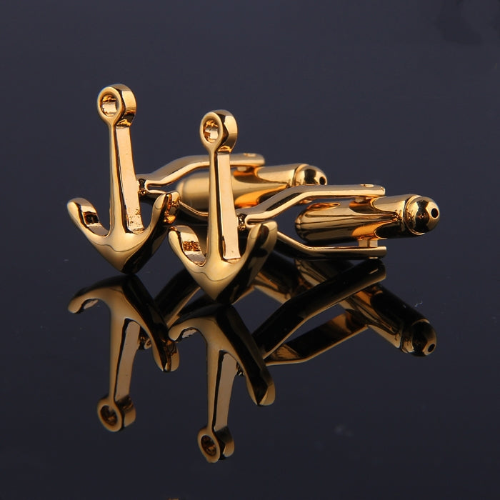 ANCHOR METAL CUFFLINKS