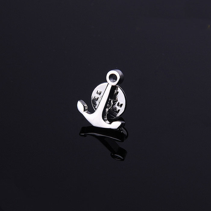 ANCHOR SILVER LAPEL PINS