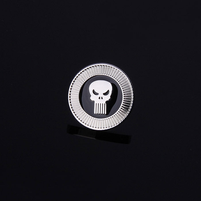 THE PUNISHER SKULL LAPEL PINS