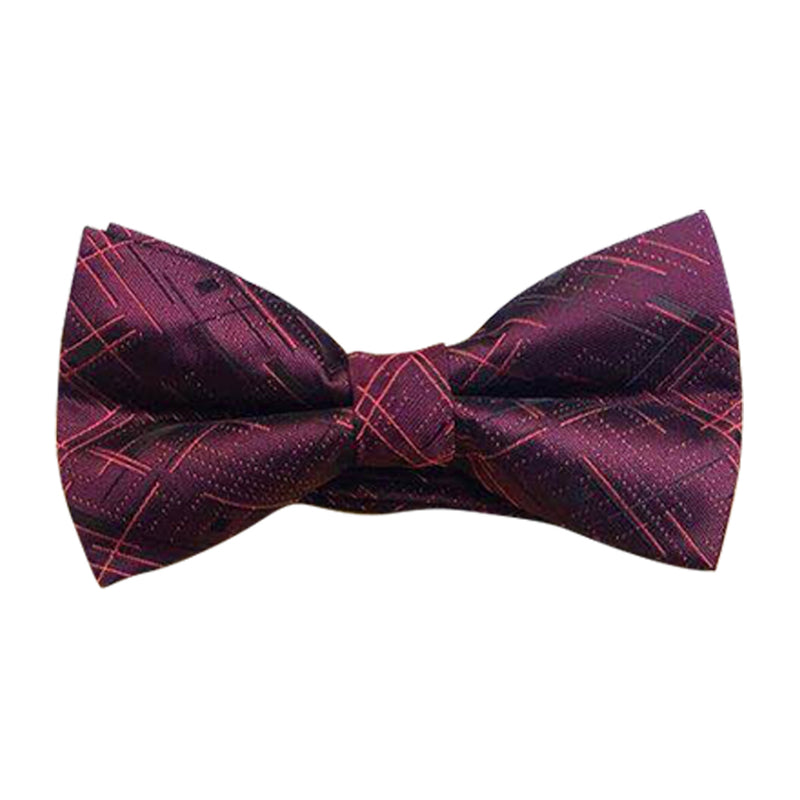 CONTRASTING DASH BOW TIES