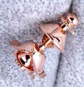 ROSEGOLD ROSE LAPEL PINS