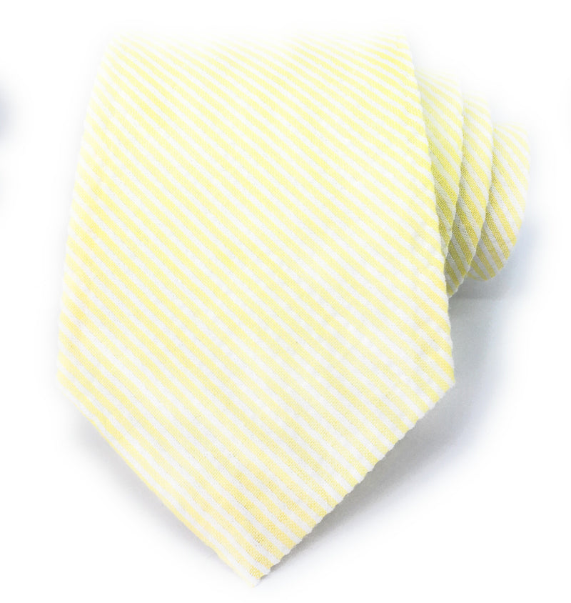 THIN STRIPE SEERSUCKER TIES