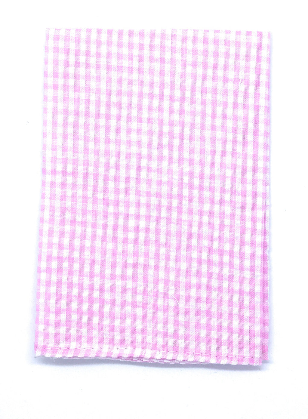 GINGHAM PLAID SEERSUCKER POCKETSQUARE