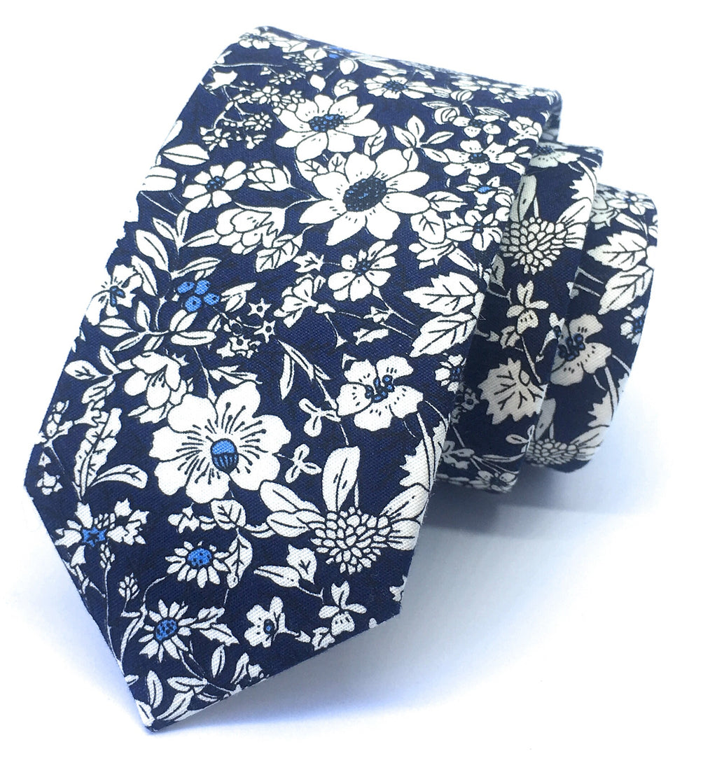 PERIWINKLE FLOWER TIES