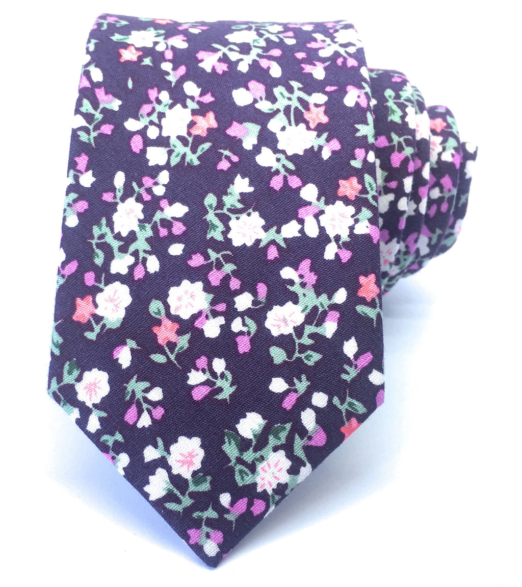 BELLE MINI FLOWER TIES