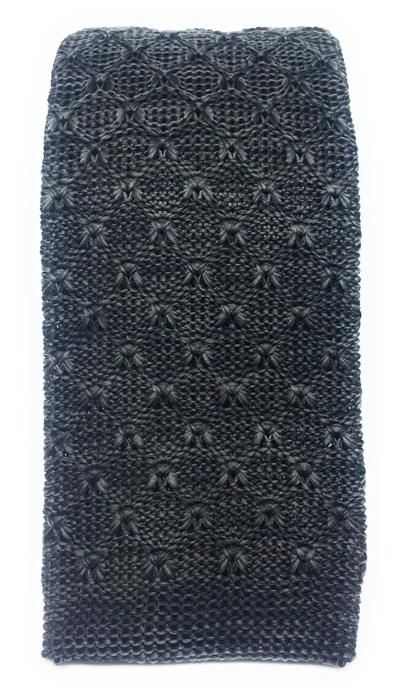 TEXTURED HEATHER KNIT TIES