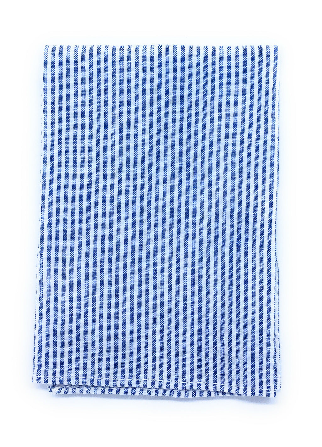 THIN STRIPE SEERSUCKER POCKETSQUARE