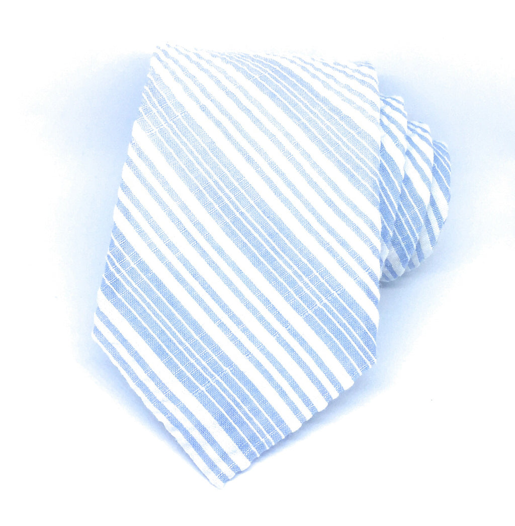 MULTI STRIPE SEERSUCKER TIES