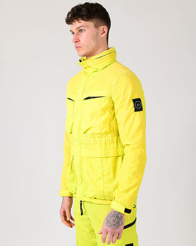 GARMENT DYED FIELD JACKET | SULPHUR