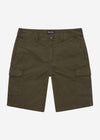 Cargo shorts - trek green