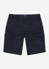 lyle and scott cargo short korte broek navy