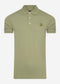 Plain polo shirt - moss