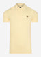 Plain polo shirt - lemon
