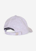 Jersey cascade sports cap - grey marl