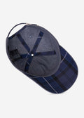 barbour sports cap ellerton tartan ink