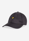 lyle and scott ripstop cap true black
