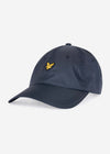 lyle and scott ripstop pet cap dark navy