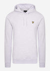 lyle and scott hoodie trui grijs