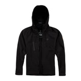 FULL FACE SOFT SHELL JACKET -BLACK