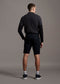 Lyle and Scott chino shorts dark navy