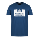 weekend offender t-shirt blauw