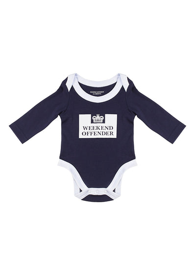 hooligan rompertje baby weekend offender