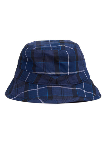 barbour tartan bucket hat