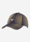 barbour classic tartan check pet cap