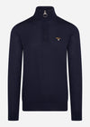 barbour knitwear trui navy
