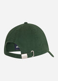 barbour sports cap racing green