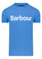Barbour logo tee - delft blue