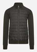 barbour vest forest zip