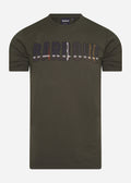 barbour wallace t-shirt green