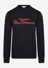 Signature logo sweat - black