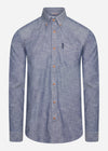 Chambray shirt - dark navy