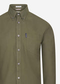 Signature oxford shirt - loden