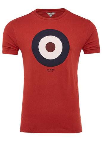 THE TARGET T-SHIRT - RUST