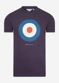 ben sherman traget t-shirt purple