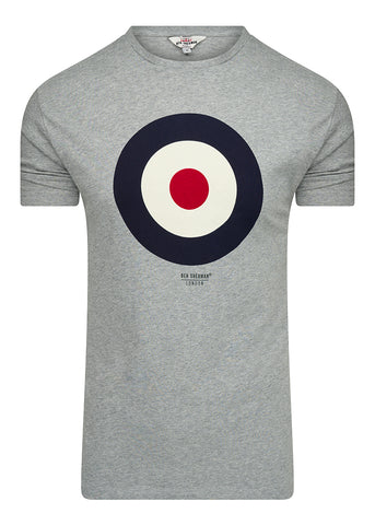 THE TARGET T-SHIRT - GREY