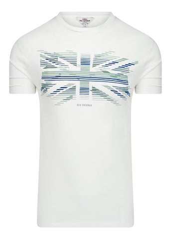 UNION STRIPE - WHITE