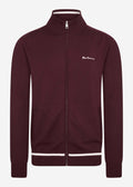 Sports zip thru - port