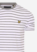 lyle and scott t-shirt stripes