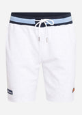 Ridere fleece short - white marl