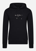 Fred perry graphic hooded sweatshirt