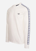 fred perry taped longsleeve t-shirt trui