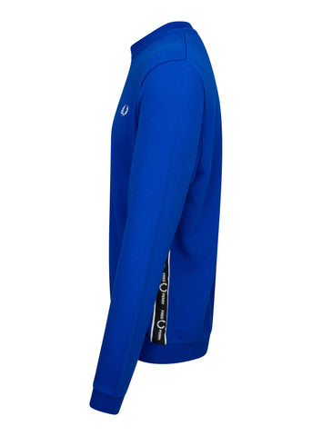 TAPED SHOULDER SWEATSHIRT - BRIGHT REGAL