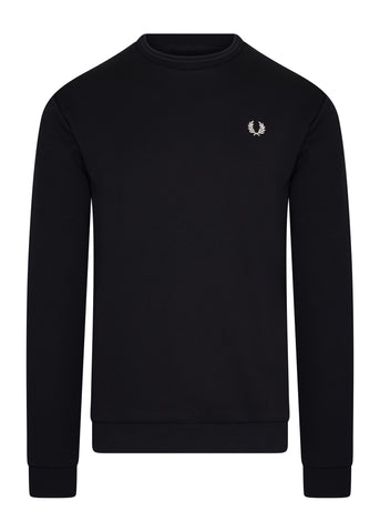 fred perry crewneck backprint rug trui