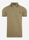 fred perry polo sage