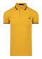 fred perry polo yellow geel